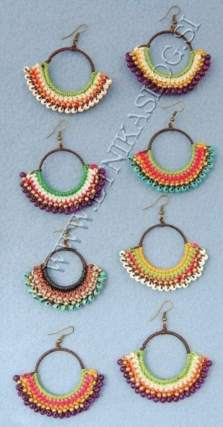 EARRINGS TH-BGOR11 - Oriente Import S.r.l.