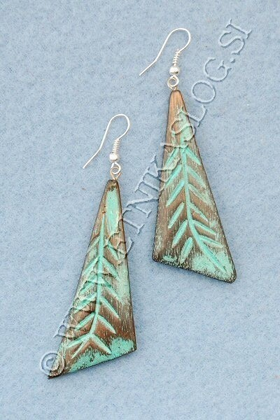 WOODEN EARRINGS LE-ORC07 - Oriente Import S.r.l.