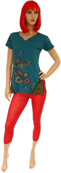TOP - T-SHIRT RICAMI NEPAL AB-BST07-VP - Oriente Import S.r.l.