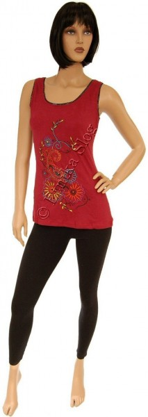 TANK TOPS WITH EMBROIDERY AB-BST11-BO - Oriente Import S.r.l.