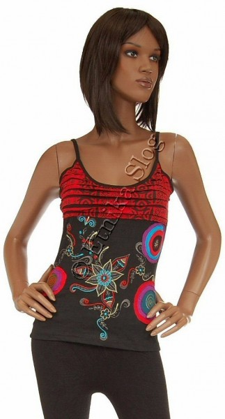 TANK TOPS WITH EMBROIDERY AB-BST01 - Oriente Import S.r.l.