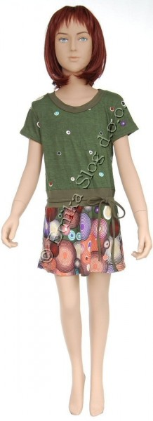 KID'S DRESSES AND T-SHIRTS AB-CD017C - Oriente Import S.r.l.