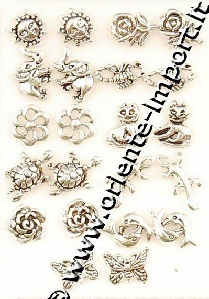 MINI EARRINGS AND NOSE RINGS - SEPTUM ARG-ORM04 - Oriente Import S.r.l.