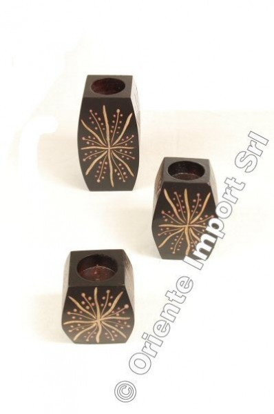 CANDLE HOLDERS, CANDLES OG-PLSET37 - Oriente Import S.r.l.