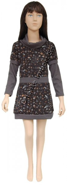 JERSEY KID'S DRESSES AB-CD041AC - Oriente Import S.r.l.