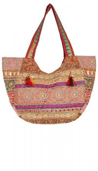 EMBROIDERED SHOULDER BAGS BS-IN54-01 - Oriente Import S.r.l.