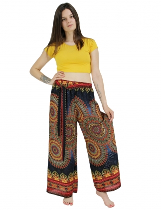 VISCOSE TROUSERS AND SHORTS