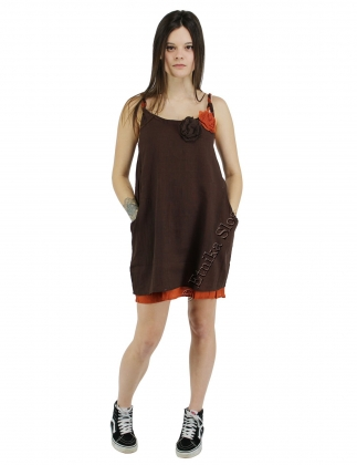 COTTON DRESSES - SHORT SLEEVES AND SLEEVELESS
