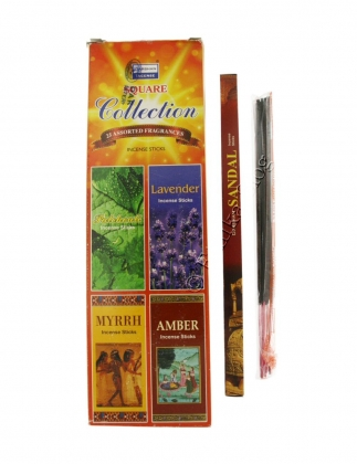INCENSE SQUARE 25 BOXES