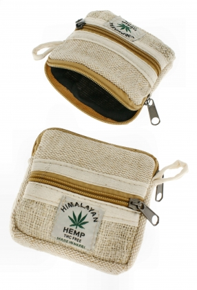 HEMP WALLETS, COIN PURSES
