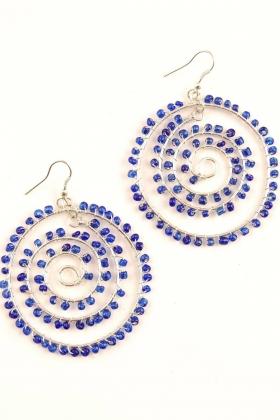 RINGS AND EARRINGS - GLASS