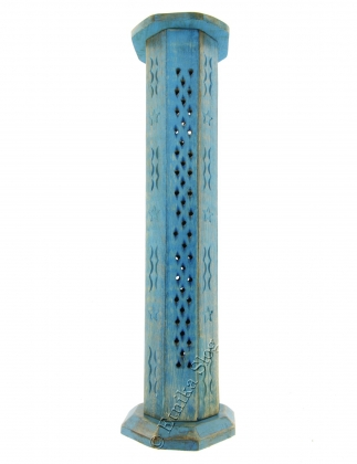 INCENSE HOLDER WOODEN COLUMN