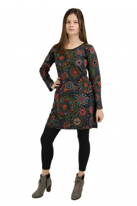 COTTON DRESSES - LONG SLEEVES